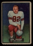 1951 Topps #31  Bill Owens  Front Thumbnail