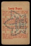 1960 Parkhurst #13  Larry Regan  Back Thumbnail