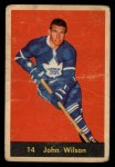 1960 Parkhurst #14  Johnny Wilson  Front Thumbnail