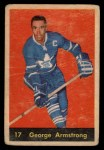 1960 Parkhurst #17  George Armstrong  Front Thumbnail