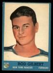 1962 Topps #59  Rod Gilbert  Front Thumbnail