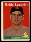 1958 Topps #24 ^WN^ Hobie Landrith  Front Thumbnail