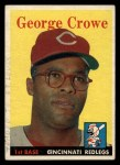 1958 Topps #12  George Crowe  Front Thumbnail