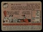 1958 Topps #7  Dale Long  Back Thumbnail