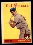 1958 Topps #33 YT Cal Neeman  Front Thumbnail