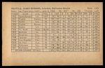1962 Exhibit Stat Back #14  Jim Gentile  Back Thumbnail