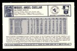 1973 Kellogg's #47  Mike Cuellar  Back Thumbnail