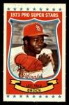 1973 Kellogg's #40  Lou Brock  Front Thumbnail