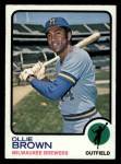 1973 Topps #526  Ollie Brown  Front Thumbnail