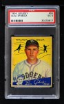 1934 Goudey #50  Walter Beck  Front Thumbnail