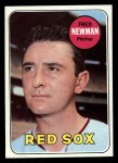 1969 Topps #543  Fred Newman  Front Thumbnail