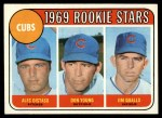 1969 Topps #602 ^VIS^  -  Alec Distaso / Don Young / Jim Qualls Cubs Rookies Front Thumbnail