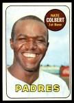 1969 Topps #408  Nate Colbert  Front Thumbnail