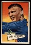 1952 Bowman Large #124  Chet Ostrowski  Front Thumbnail