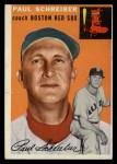 1954 Topps #217  Paul Schreiber  Front Thumbnail