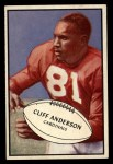 1953 Bowman #72  Cliff Anderson  Front Thumbnail