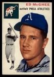 1954 Topps #215  Ed McGhee  Front Thumbnail
