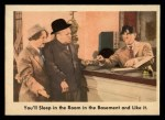 1959 Fleer Three Stooges #4   You'll Sleep in the Room  Front Thumbnail