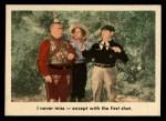 1959 Fleer Three Stooges #40   I Never Miss  Front Thumbnail