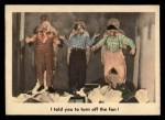 1959 Fleer Three Stooges #37   I Told You to Turn Off the Fan  Front Thumbnail