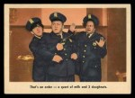 1959 Fleer Three Stooges #53   That's an Order  Front Thumbnail