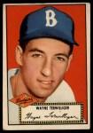 1952 Topps #7 RED Wayne Terwilliger  Front Thumbnail