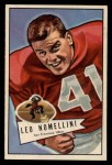 1952 Bowman Large #125  Leo Nomellini  Front Thumbnail