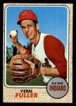 1968 Topps #71  Vern Fuller  Front Thumbnail