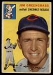 1954 Topps #22  Jim Greengrass  Front Thumbnail