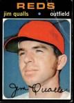 1971 Topps #731  Jim Qualls  Front Thumbnail