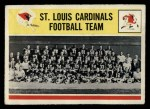 1964 Philadelphia #181   Cardinals Team Front Thumbnail