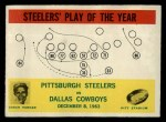 1964 Philadelphia #154   -  Buddy Parker    Pittsburgh Steelers Front Thumbnail