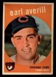 1959 Topps #301  Earl Averill Jr.  Front Thumbnail