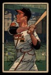 1952 Bowman #28  Roy Hartsfield  Front Thumbnail