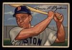 1952 Bowman #9  Vern Stephens  Front Thumbnail