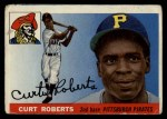 1955 Topps #107  Curt Roberts  Front Thumbnail