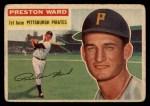 1956 Topps #328  Preston Ward  Front Thumbnail