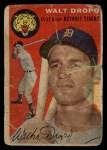 1954 Topps #18  Walt Dropo  Front Thumbnail