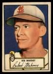 1952 Topps #58 RED Bob Mahoney  Front Thumbnail