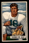1951 Bowman #27  Thurman McGraw  Front Thumbnail