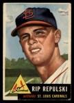 1953 Topps #172  Rip Repulski  Front Thumbnail