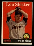 1958 Topps #46 ^WN^ Lou Sleater  Front Thumbnail