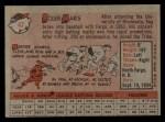 1958 Topps #47  Roger Maris  Back Thumbnail