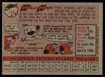 1958 Topps #210  Wally Moon  Back Thumbnail