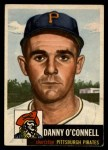 1953 Topps #107  Danny O'Connell  Front Thumbnail