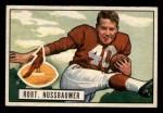 1951 Bowman #66  Robert Nussbaumer  Front Thumbnail