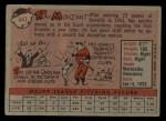 1958 Topps #447  Ray Monzant  Back Thumbnail
