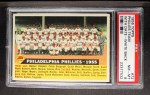 1956 Topps #72 D55  Phillies Team Front Thumbnail