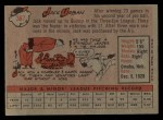 1958 Topps #367  Jack Urban  Back Thumbnail