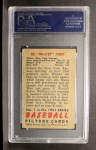 1951 Bowman #1  Whitey Ford  Back Thumbnail